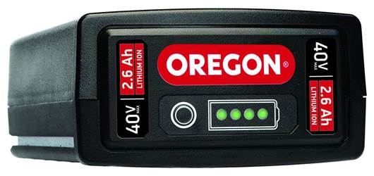 BATTERIE OREGON 40V MAX* 2,6 Ah